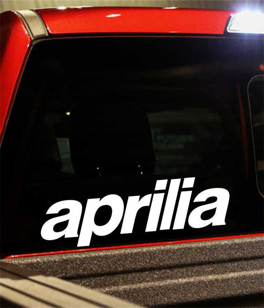 aprilia performance logo decal - North 49 Decals