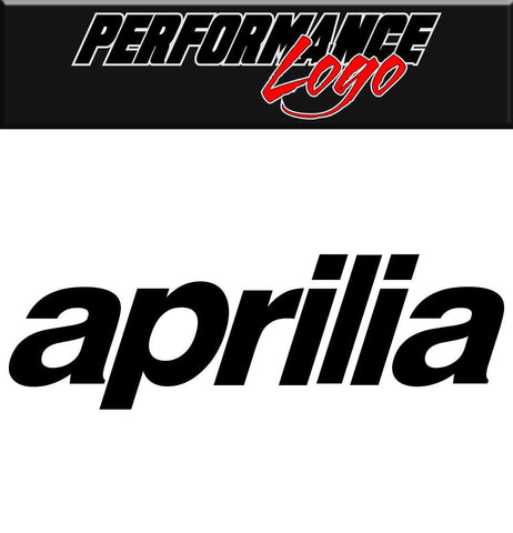 Aprilia decal performance decal sticker