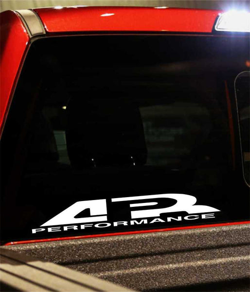 ar performance performance logo decal - North 49 Decals