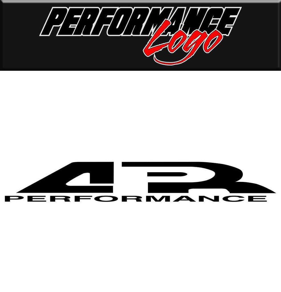 AR Performance decal performance car decal sticker