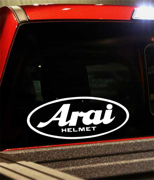 aria helmet performance logo decal - North 49 Decals