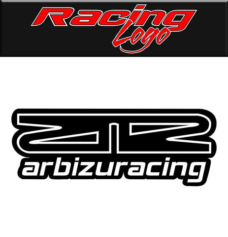 Arbizu Racing decal, racing sticker