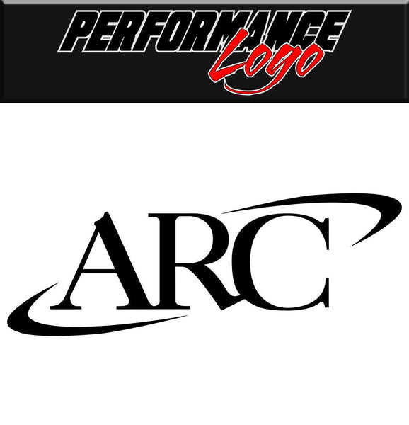 ARC decal performance decal sticker
