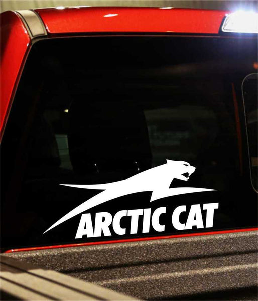 arctic cat performance logo decal - North 49 Decals