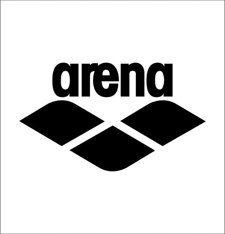 Arena Swimwear decal, car decal sticker