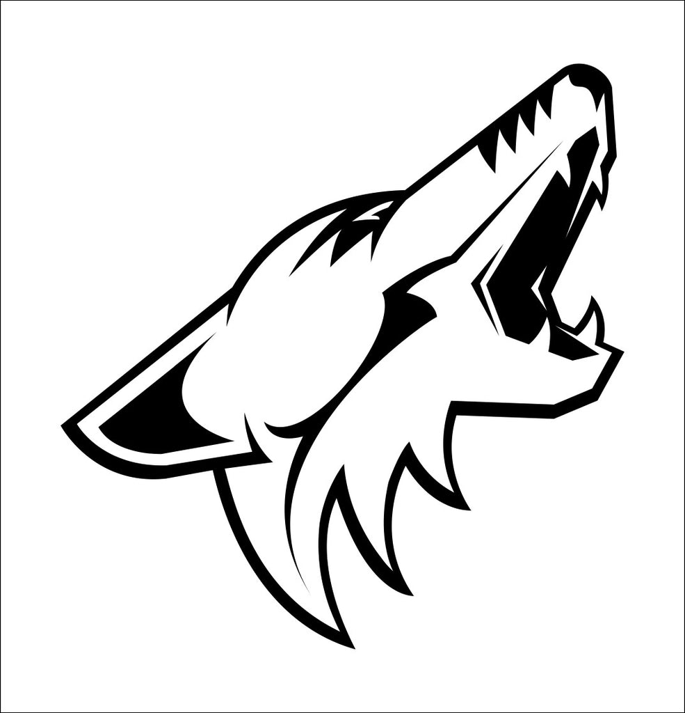 Arizona Coyotes decal, sticker, nhl decal