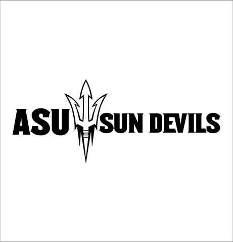 Arizona State Sun Devils decal, car decal sticker, college football