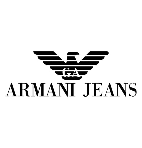 Armani decal, car decal sticker