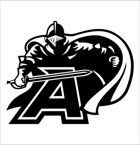 Army Black Knights decal, car decal sticker, college football