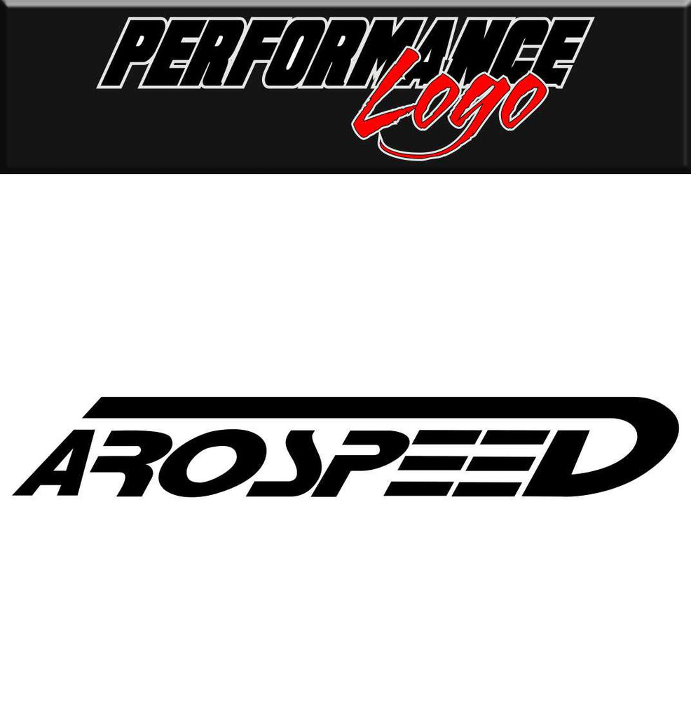 Arospeed decal performance decal sticker