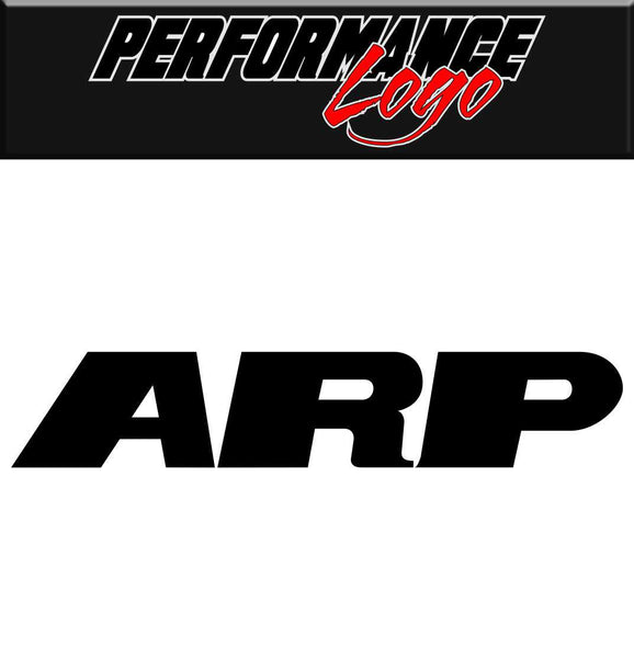 ARP decal performance decal sticker