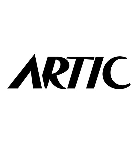 Artic Vodka decal, vodka decal, car decal, sticker