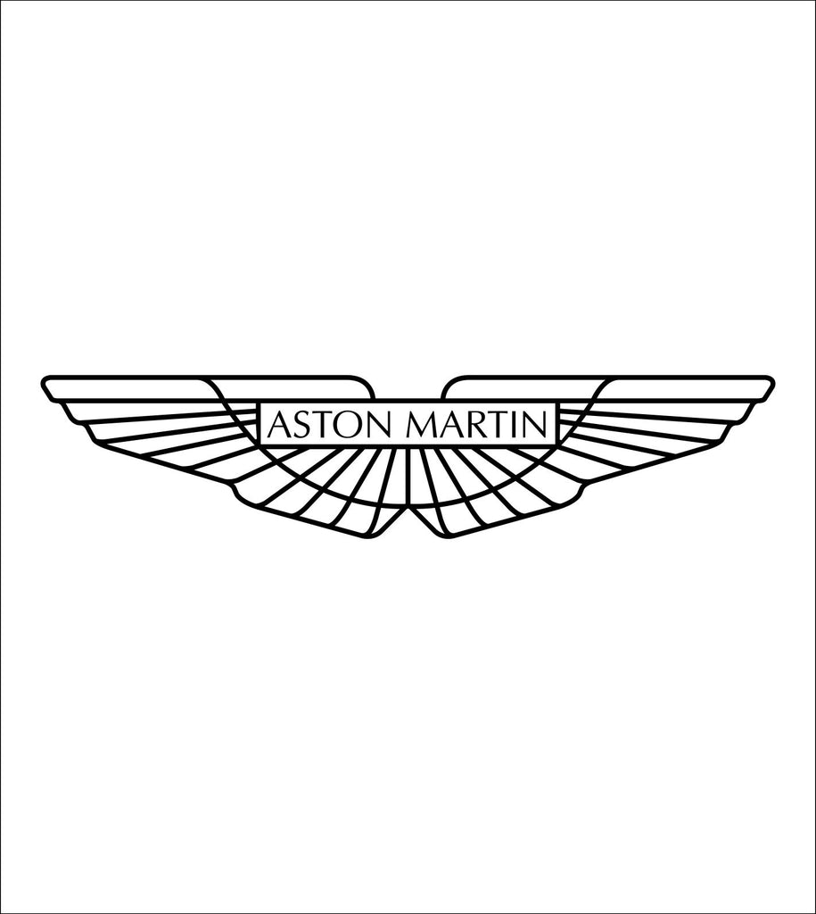 Aston Martin decal, sticker, car decal