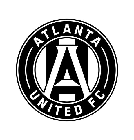 Atlanta United decal, car decal, sticker