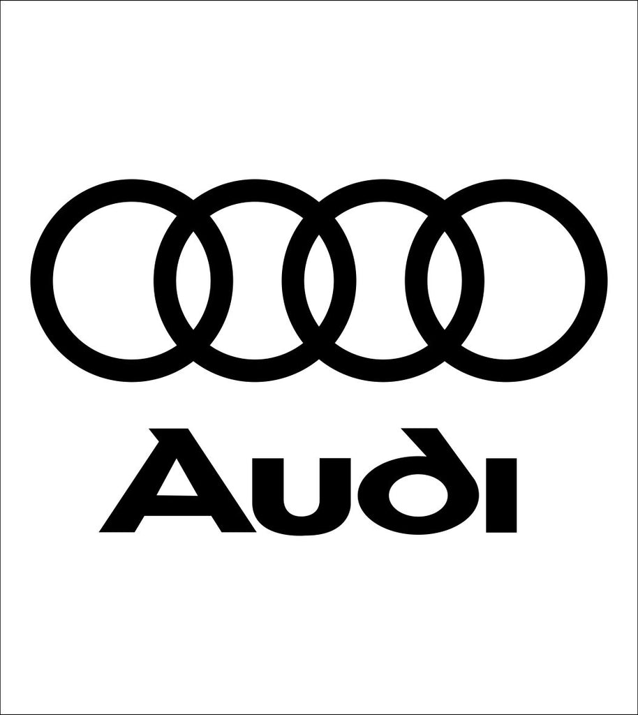 Audi decal, sticker, car decal