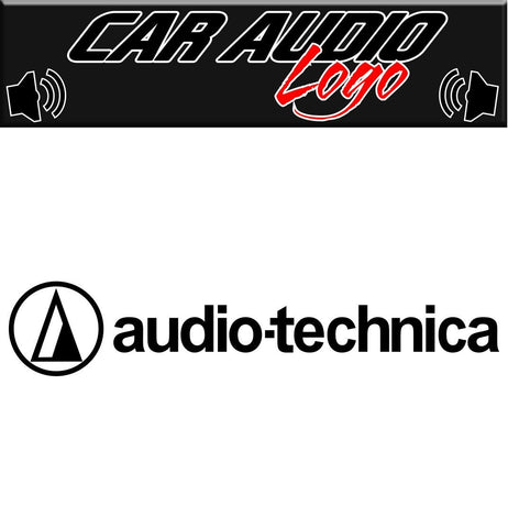 Audio-Technica decal, sticker, audio decal