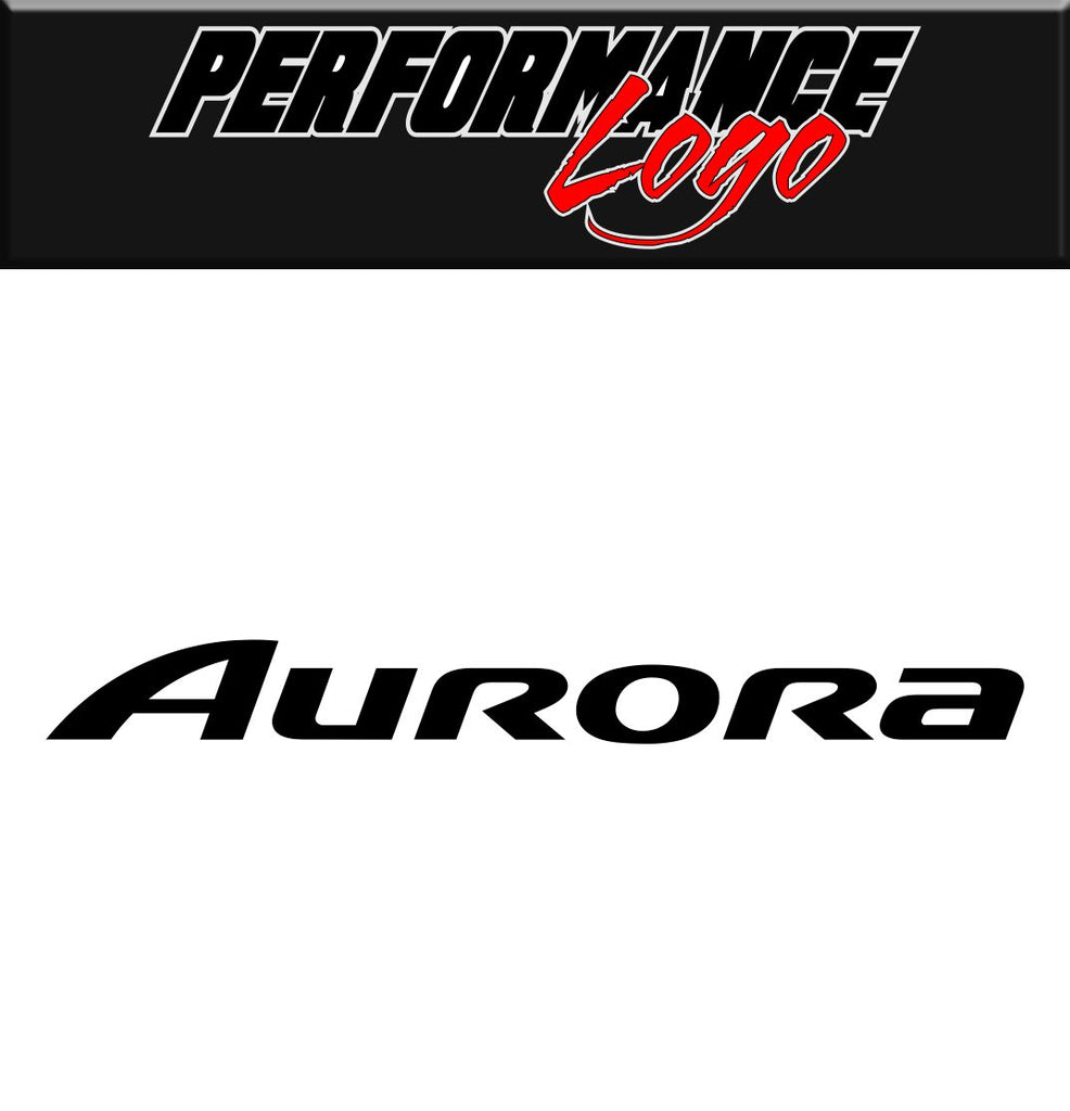 Aurora decal performance decal sticker