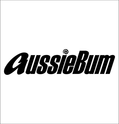 AussieBum decal, car decal sticker