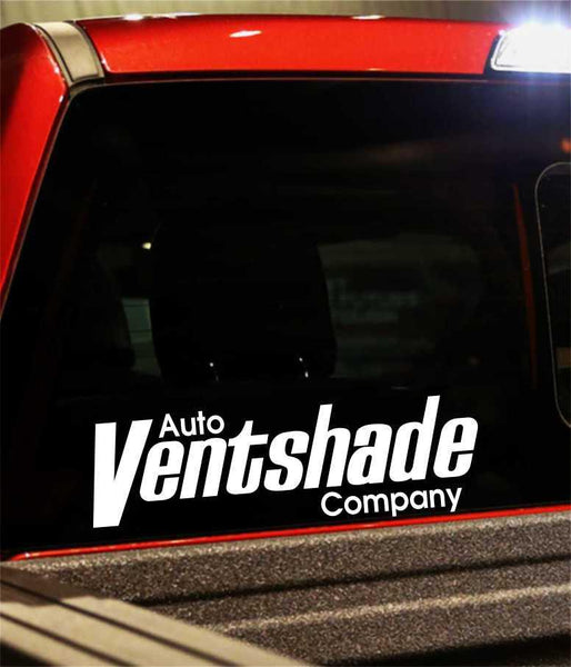 auto ventshade performance logo decal - North 49 Decals