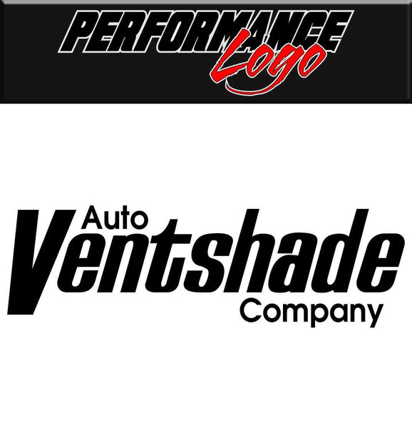 Auto Ventshade decal performance decal sticker