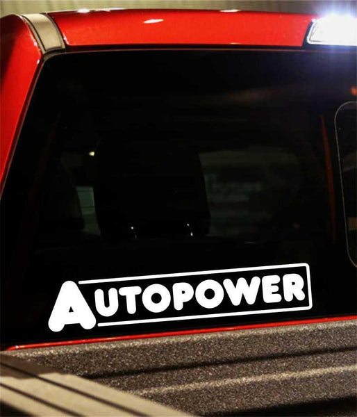 autopower performance logo decal - North 49 Decals