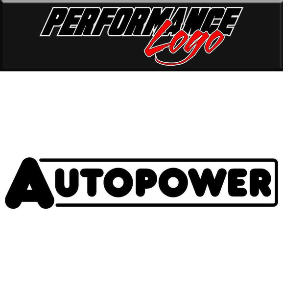 Autopower decal performance decal sticker