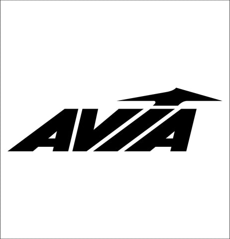 avia decal, car decal sticker