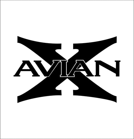 avian x decal, car decal sticker