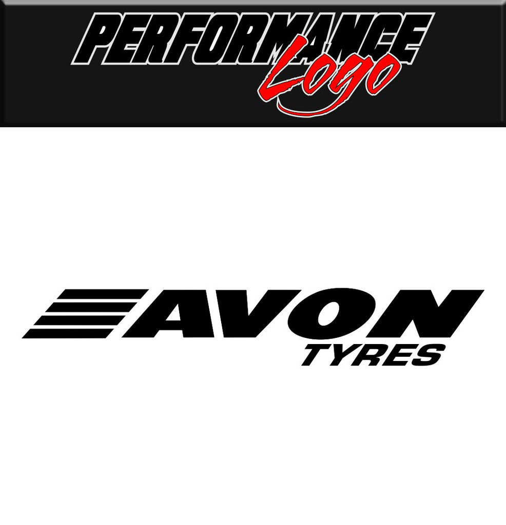 Avon Tyres decal performance decal sticker