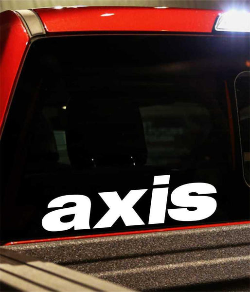 axis performance logo decal - North 49 Decals