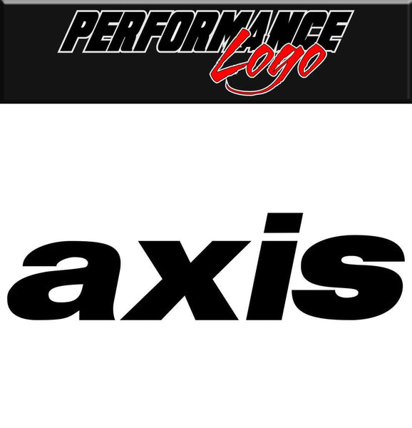 Axis decal performance decal sticker