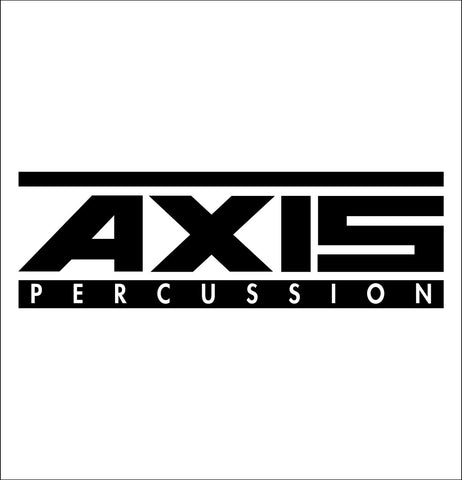 Axis Percussion decal, music instrument decal, car decal sticker