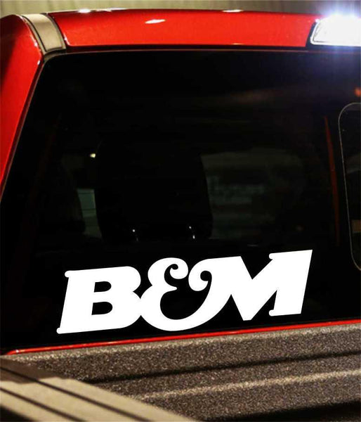 b&m performance logo decal - North 49 Decals