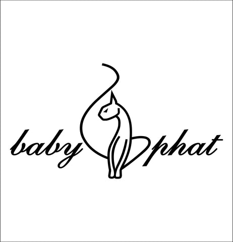 Baby Phat decal, car decal sticker