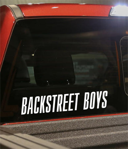 backstreet boys band decal - North 49 Decals