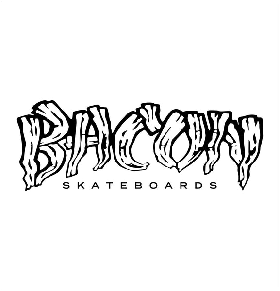 Bacon Skateboards decal, skateboarding decal, car decal sticker