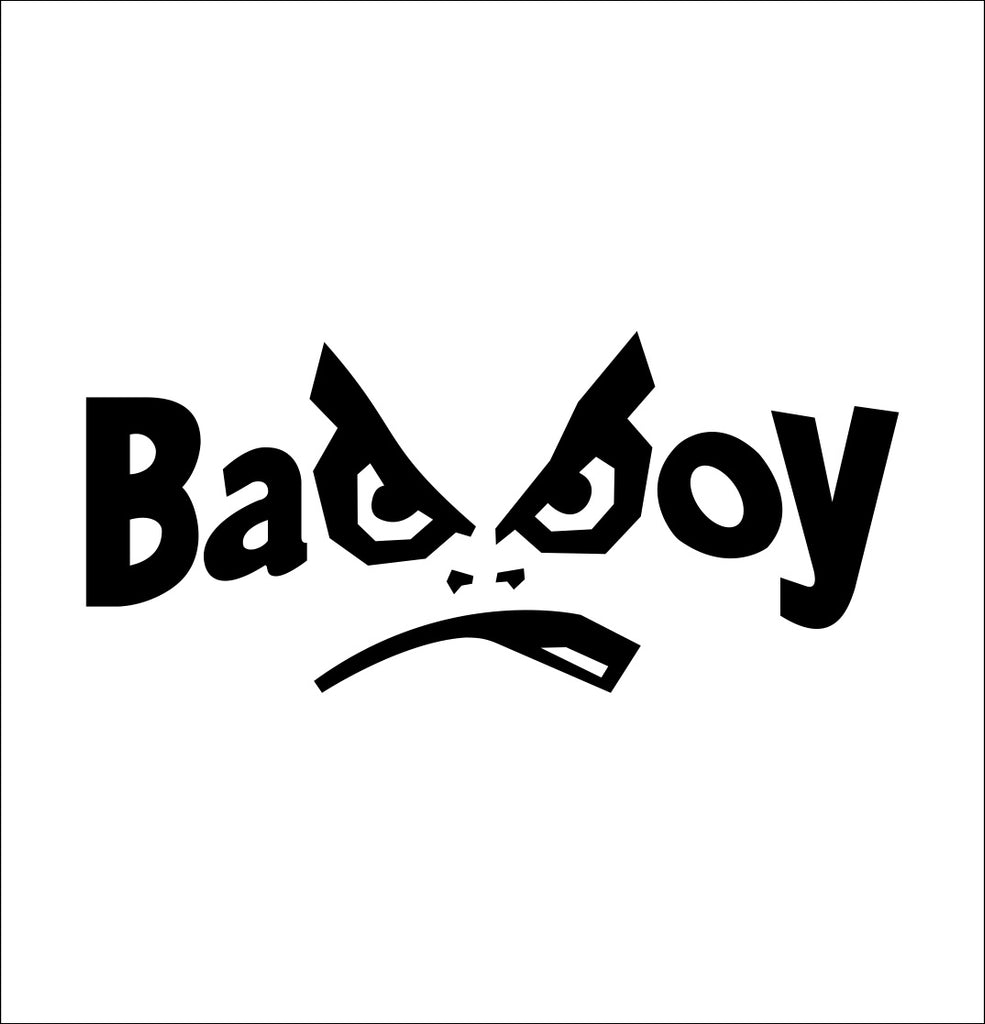 bad boy decal, car decal sticker
