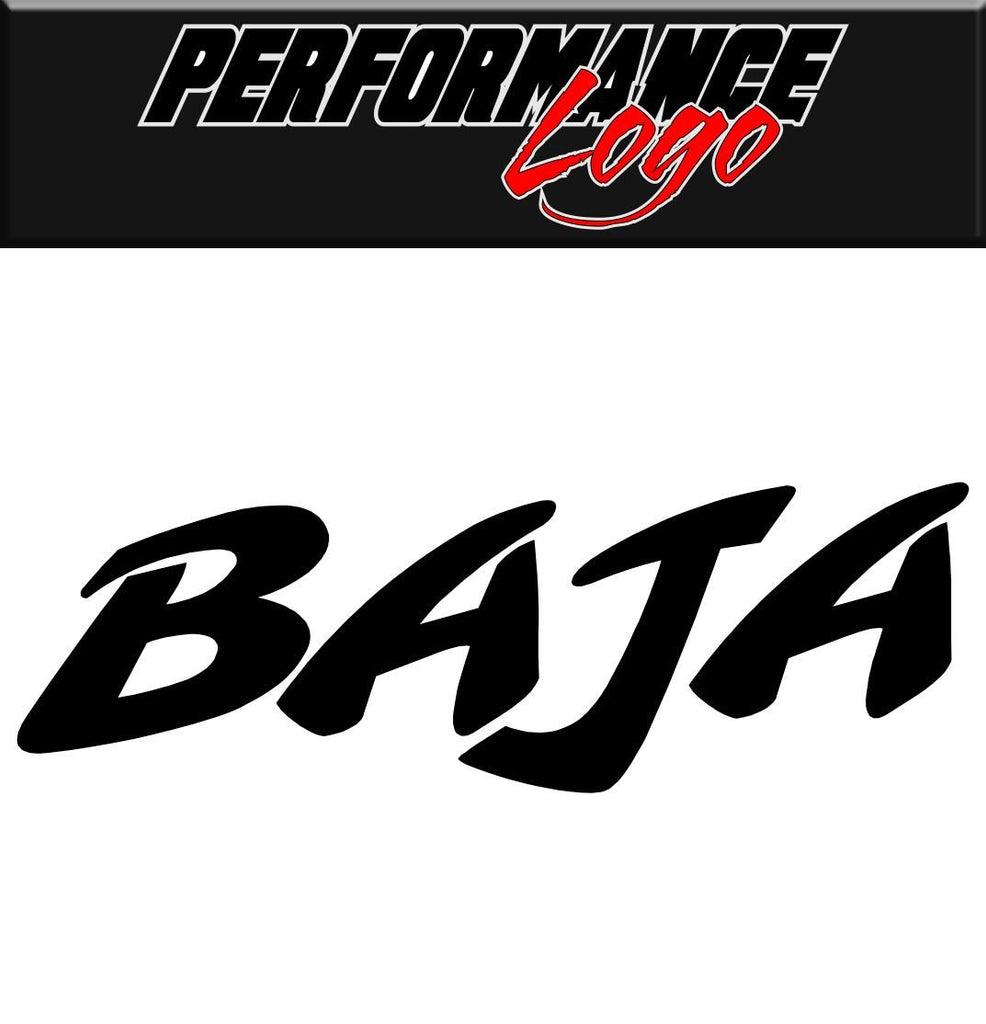 Baja decal performance decal sticker