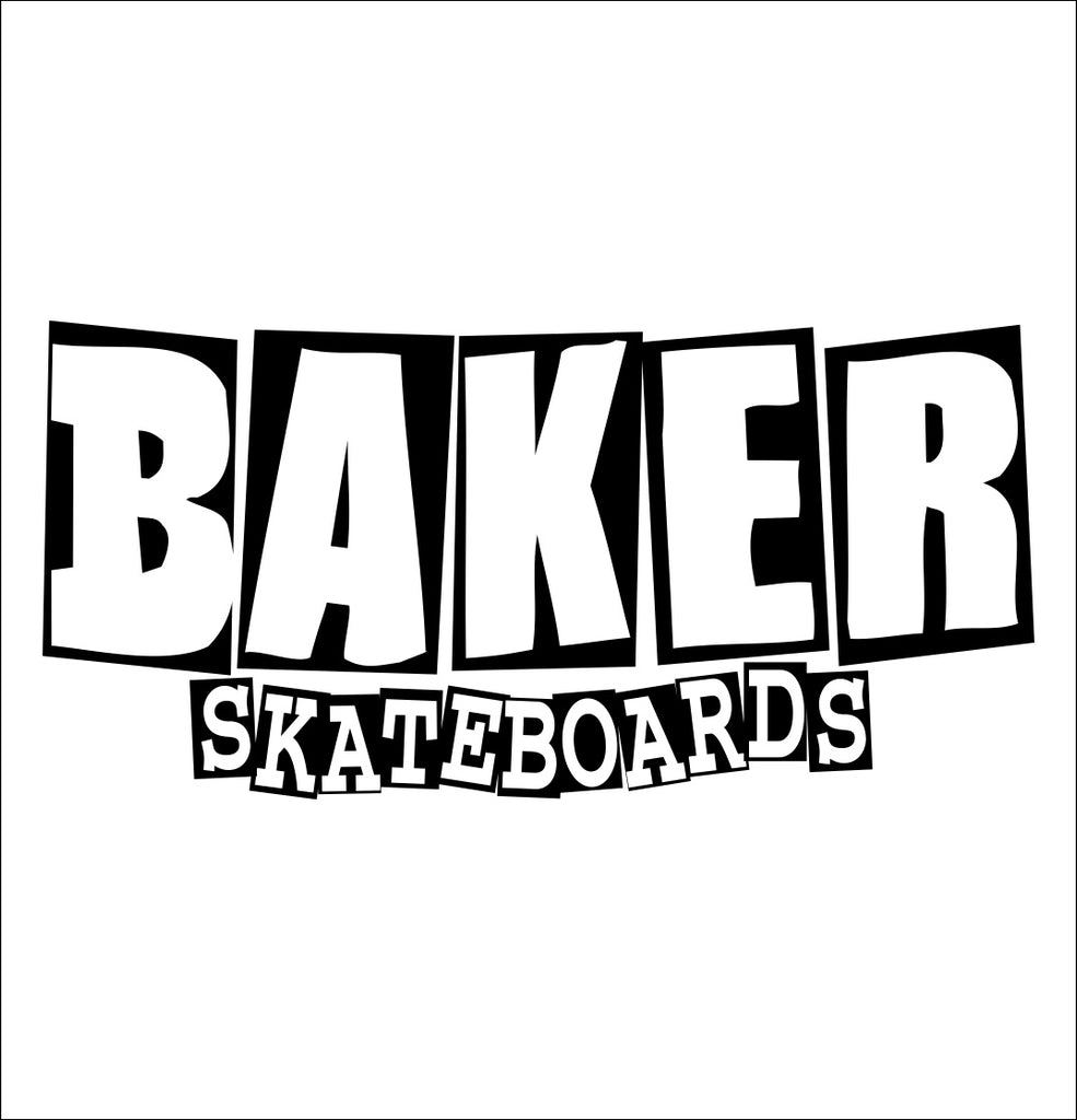 Baker Skateboards decal, skateboarding decal, car decal sticker