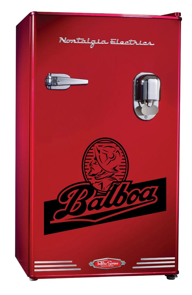 Balboa decal, beer decal, car decal sticker