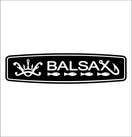Balsax decal, fishing hunting car decal sticker