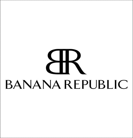 Banana Republic  decal, car decal sticker
