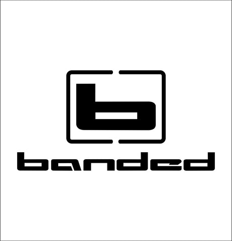 banded gear decal, car decal sticker