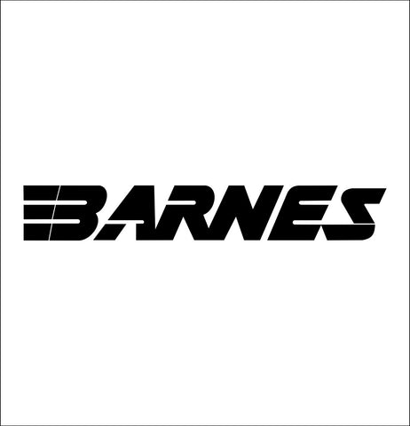 Barnes Bullets decal, sticker, car decal