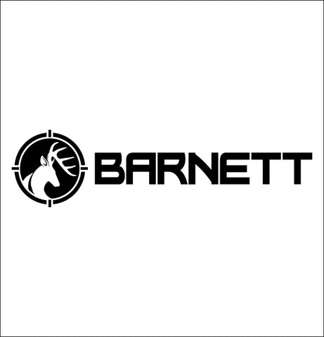 Barnett Crossbows decal, fishing hunting car decal sticker