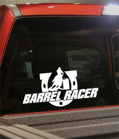 barrel racer country & western decal - North 49 Decals