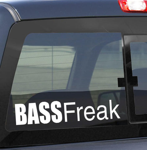 Bass freak fishing decal - North 49 Decals