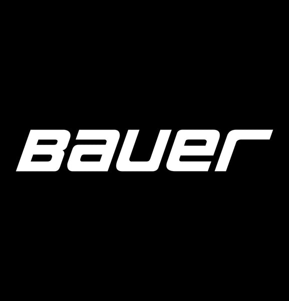 bauer decal, car decal sticker
