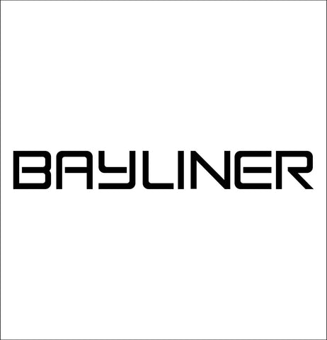 Bayliner Boats decal, sticker, hunting fishing decal