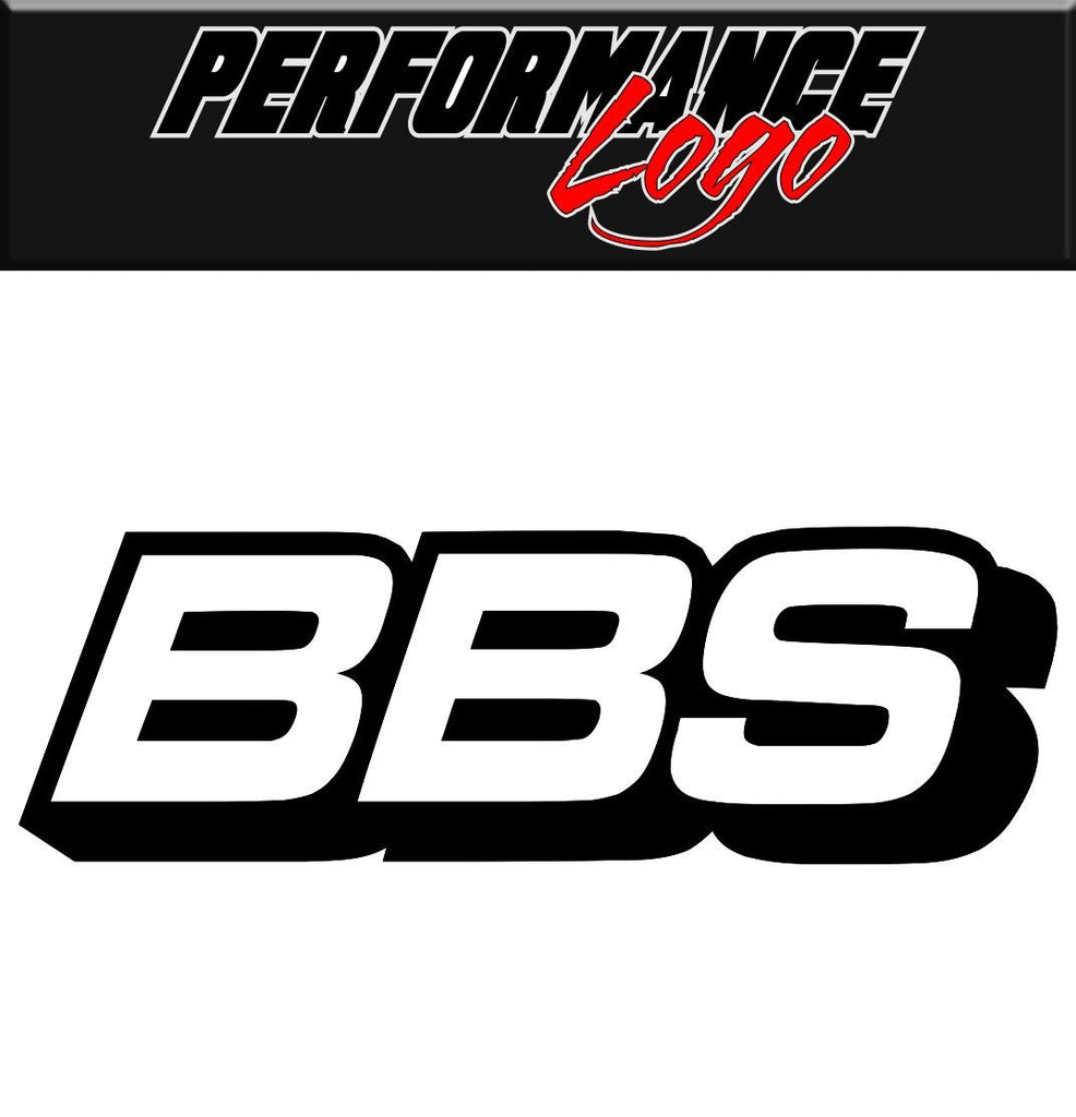 BBS Wheels decal performance decal sticker